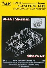 Czech Master 1/35 M4A1 Sherman Early/Late Driver's Set for Dragon kit # 3072