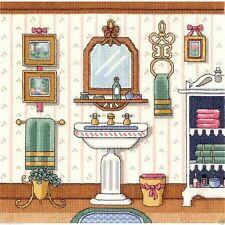 "Janlynn Counted Cross Stitch Kit 10"" x 10"" ~ VICTORIAN SINK #006-0101 Sale"