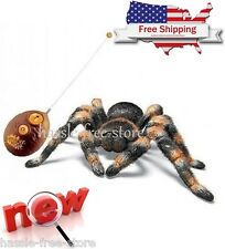 Radio Remote Control Rc Prank Gag Spider Tarantula Awesome Fun Toy