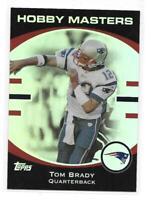 2007 Topps Tom Brady Hobby Masters Insert Card