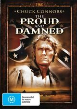 PROUD AND THE DAMNED - CHUCK CONNORS -  NEW DVD FREE LOCAL POST