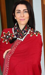 "16.93"" x 35.43"" Dress Suzani Dress Uzbek VINTAGE FAST Shipment With UPS 11386"