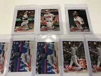 2018 Topps Update Baseball Atlanta Braves RC Rookies & Stars Lot of 27 Cards