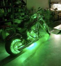 4 Pcs LED Waterproof 12v Custom Motorcycle Neon Accent Lighting Green Bike 1' Ft