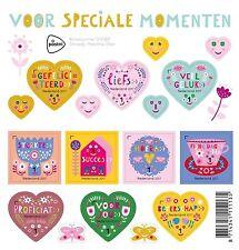 Nederland 2017  Speziale momenten hart    blok     luxe postfris/mnh