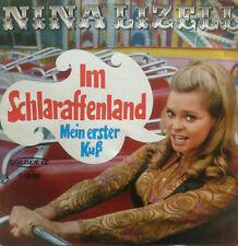 "7"" 1968 RARE IN VG+ (?) NINA LIZELL Im Schlaraffenland"