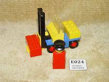 LEGO Sets: Legoland: Construction: 615-2 Fork Lift with Driver (1975) no spring