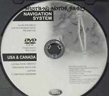2006 Land Rover Range Rover Supercharged & HSE Navigation DVD Disc U.S Canada