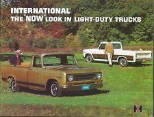 Brochure - IH International - The Now Look in Light-Duty Trucks (T2846)