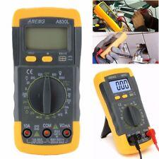 Digital LCD Voltmeter Ammeter Ohmmeter Multimeter Volt AC DC Tester Meter