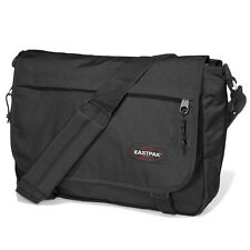 EASTPAK DELEGATE MESSENGER BAG SHOULDER BAG BLACK SCHOOL BAG EK076008