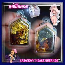 Thai Amulet Charming Love Casanovy Heart Breaker(Gold)Sweety Honey Phra Arjarn O