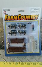 1/64 ERTL FARM COUNTRY TOY BALDI STEER CATTLE COW DISPLAY NIP VHTF FREE SHIP!