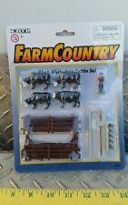 1/64 ERTL FARM COUNTRY TOY BALDI STEER CATTLE COW DISPLAY NIP VHTF FREE SHIP!