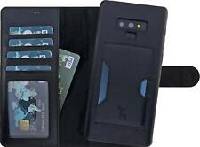 Burkley Samsung Galaxy Note 9 Lederhülle 2in1 Schutzhülle Handy-Hülle Case Cover