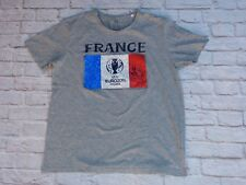T shirt FRANCE FFF signé signed DIDIER DESCHAMPS foot EURO 2016
