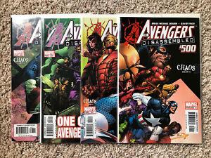 Avengers #500-503 Marvel Comics (2005)