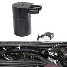 Billet Aluminum Oil Catch Can Tank Bottle Baffled for N54 335i 535xi Black He