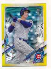 ANTHONY RIZZO 2021 Topps Chrome Ben Baller GOLD REFRACTOR /50 CUBS 165
