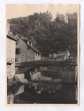 PHOTO ANCIENNE Creuse Aubusson Vers 1940 Pont Maison