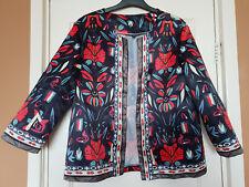 Boho/gypsy floral blazer size M/L