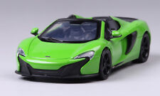 McLaren 650s Convertible Model Cars 1:24 Toys Collection Alloy Diecast Green New