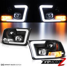 09-15 16 17 18 Dodge Ram Pickup OLED Neon Tube C-Shape DRL Projector Headlight