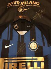 Maglia Inter 20th anniversario Nike 2019 Serie Limitata Autografata Zanetti