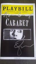 Emma Stone & Alan Cumming Signed Autographed Cabaret Playbill - Broadway