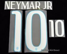 Brazil Neymar jr 10 2014 Football Shirt Name/number Set Away Player Size