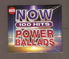 NOW 100 Hits Power Ballads CD