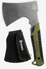 Authorized New Full Tang Compact Gerber Pack Hatchet Axe -Flat Sage 3482