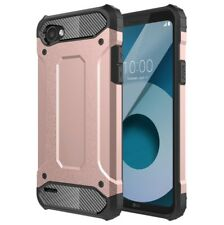 For LG Q6 Shockproof Heavy Duty Armor Dual Layer Hard Cover Case