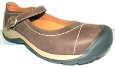 New KEEN Women's Presidio Dark Earth Leather Mary Jane Shoes 9 M