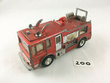 NICE VINTAGE DINKY TOYS #285 MERRYWEATHER MARQUIS FIRE ENGINE DIECAST 1969 RED