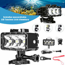 40m Waterproof Underwater Diving LED Light Flash Fill Light for Gopro Hero 7/6/5