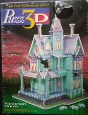 PUZZ 3D Victorian House Fully Dimensional Puzzle 700 Pieces 1994 New Sealed