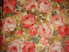 """Rose & Hubble 100% cotton chintz  floral design19"""" x 45"""" (1/2 yard)"""