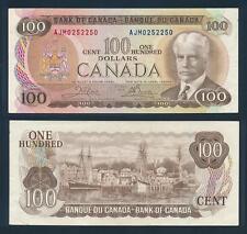 [77347] Canada 1975 100 Dollars Bank Note VF P91b