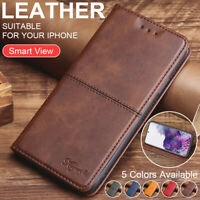 For Samsung Galaxy S21/S21+/S21 Ultra Luxury Leather Card Slot Wallet Case Cover