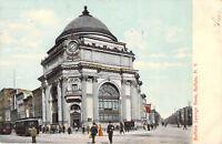 Buffalo Savings Bank New York Postcard Printed in Germany Tinted Undivided 1907