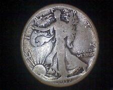 1917-S WALKING LIBERTY SILVER HALF DOLLAR MINTMARK ON REVERSE #15513