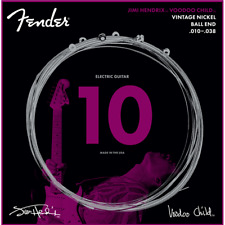 Fender Jimi Hendrix Voodoo Child Electric Guitar Strings -10-38 ball end nickel