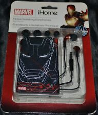 Ironman Iron Man 3 Headphones Head Phones Earbuds Ear Buds Tablet & Phone NEW