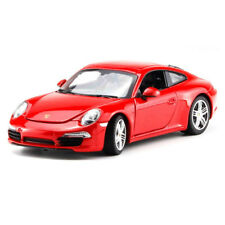 Porsche 911 Carrera S Sports Car 1:24 Collectable Car Model Diecast Vehicle Red