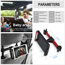 "Car Back Seat Headrest Mount Holder For 4-11"" Screen Phones&Tablet&iPad Black"