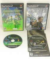 Syphon Filter Dark Mirror & The Omega Strain Sony Playstation 2 PS2 Bundle
