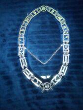 Masonic Regalia Master Mason Blue House Lodge Blue Backing Velvet Collar 400sb