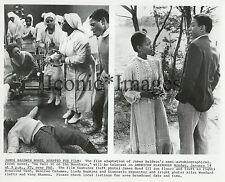 ORIG. 1985-MOVIE STILL-GO TELL IT ON THE MOUNTAIN-ALFRE WOODARD-JAMES BALDWIN