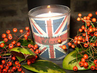 Organic Christmas essential oil Soya Wax English Rosemary & Thyme scented Candle